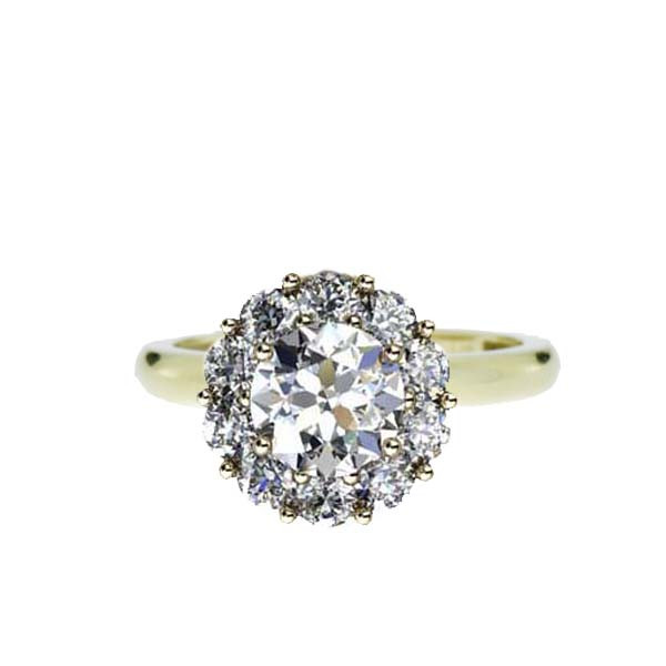 Color My Life Diamond Ring in Yellow Gold