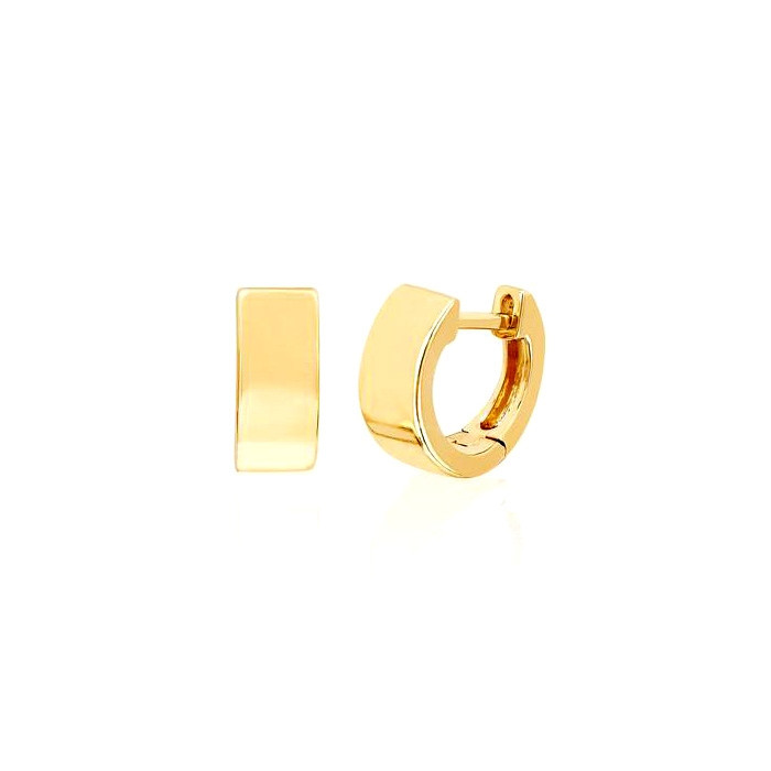 EF Collection Jumbo Huggie Hoop Earrings