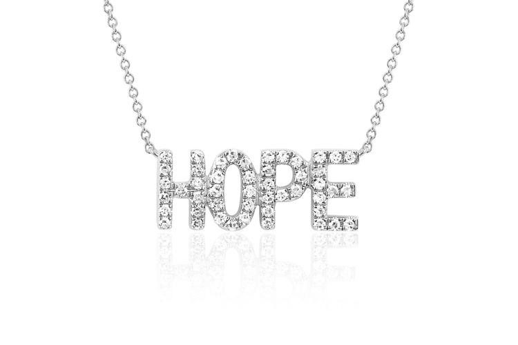 EF Collection Diamond Hope Necklace