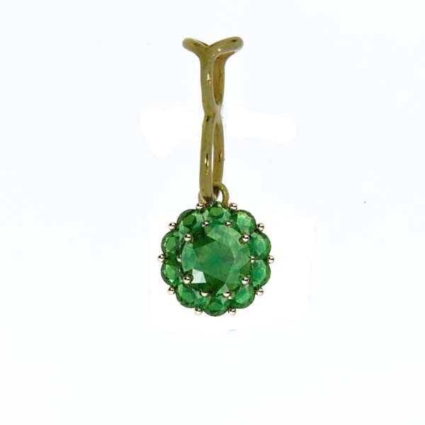 Color My Life Emerald Long Pendant
