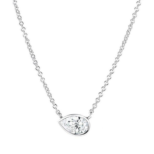 Forevermark Pear Diamond Tribute Pendant
