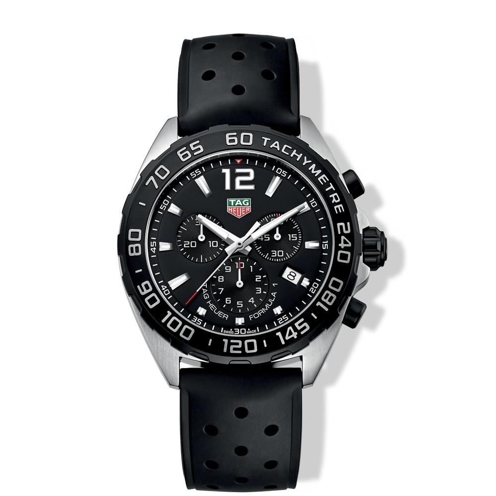 Tag Heuer Formula 1 Black Dial 43mm Chronograph Watch