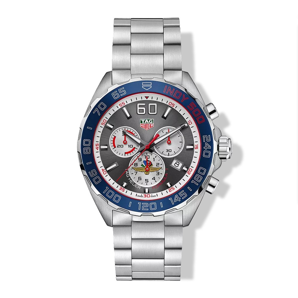 Tag Heuer Formula 1 Stainless Steel 43mm Chronograph Anthracite Watch