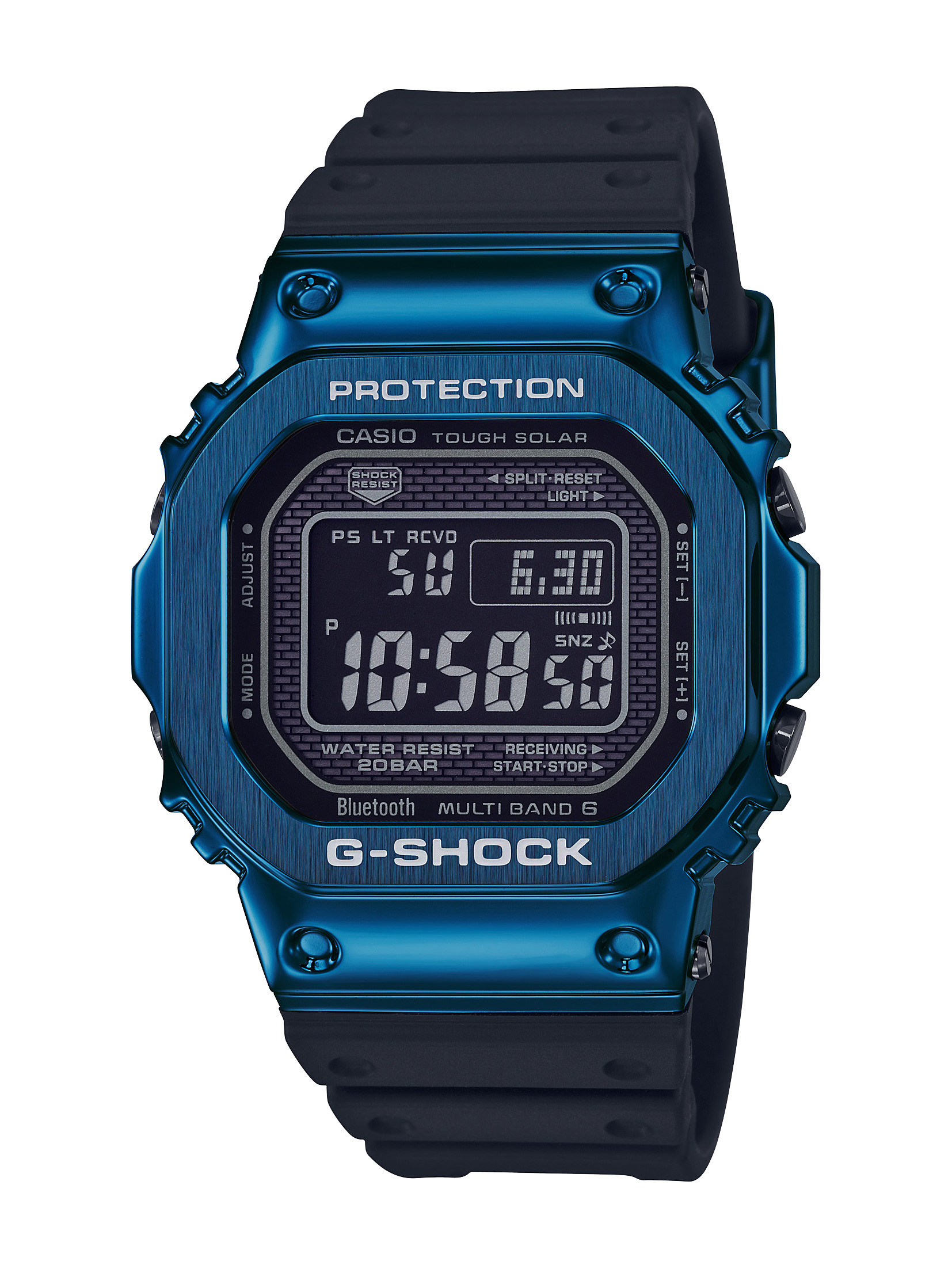 G-Shock Connected Blue and Black Watch