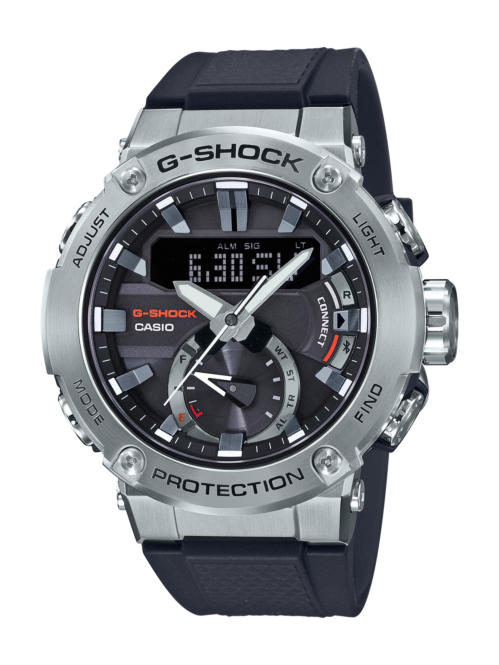 G-Shock Carbon Core Black Digital-Analog Watch