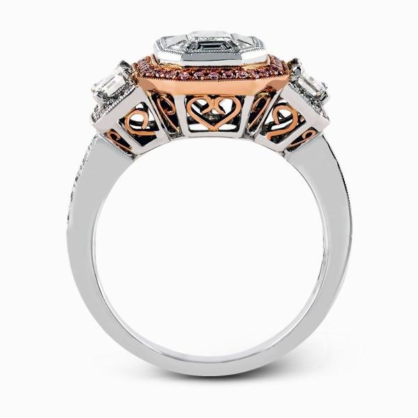 Simon G. LP1996 Mosaic Engagement Ring Setting