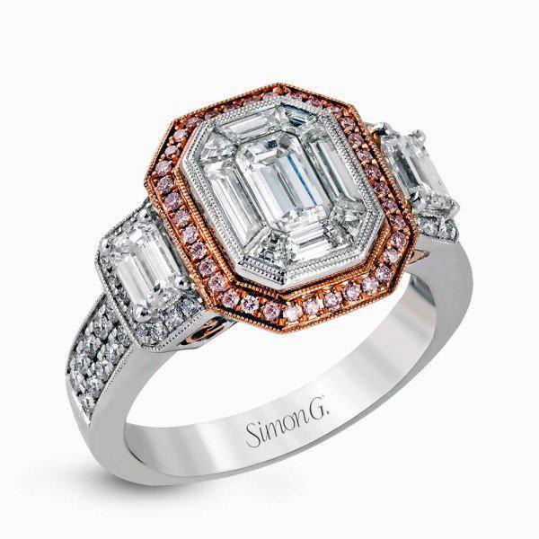 Simon G. LP1996  Engagement Ring
