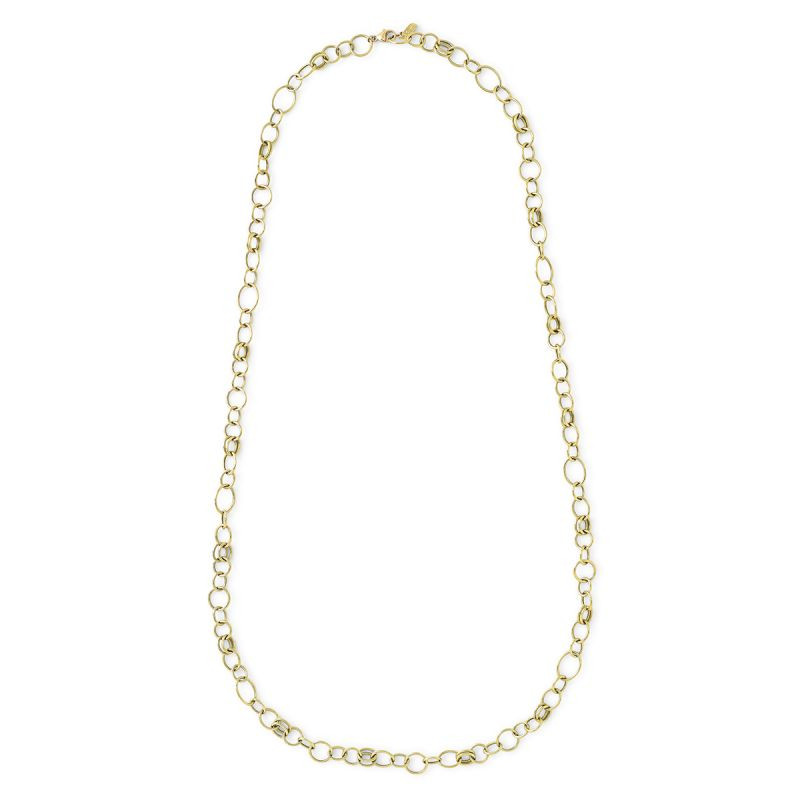 IPPOLITA 18K Gold Classico Long Link Necklace full view