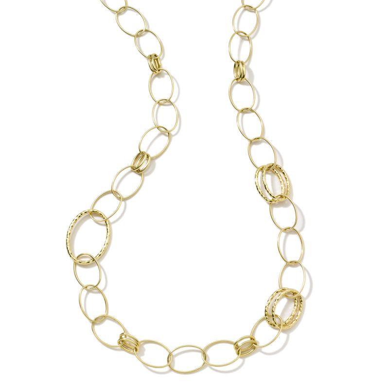 Ippolita 18K Gold Classico Bastille Long Link Necklace