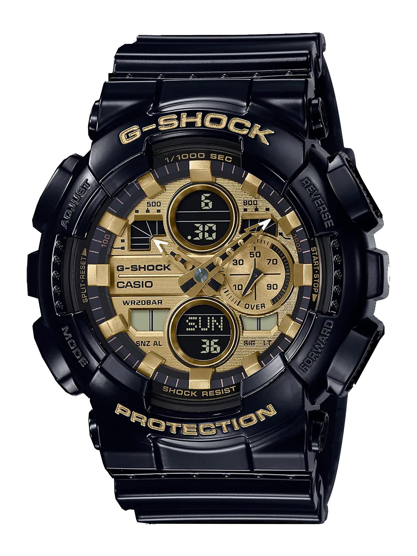 G-SHOCK G-140 Series Analog Digital Watch – 51.2mm