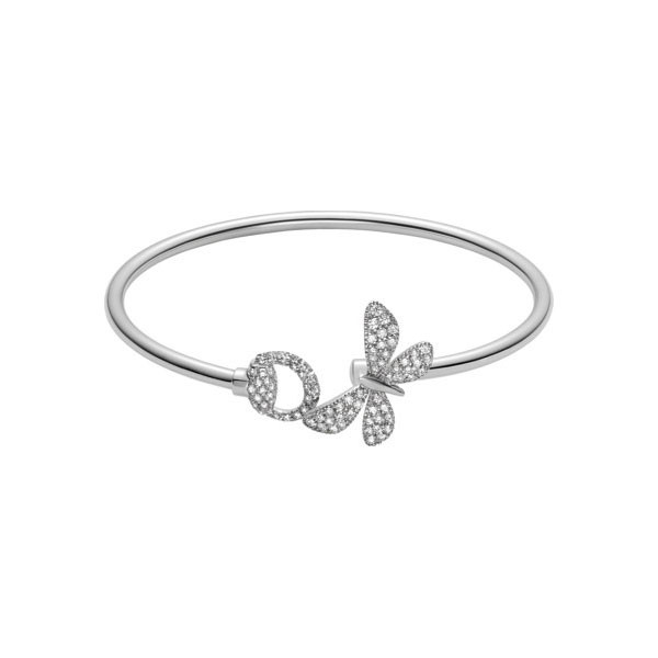 Gucci Flora White Gold & Diamond Bracelet