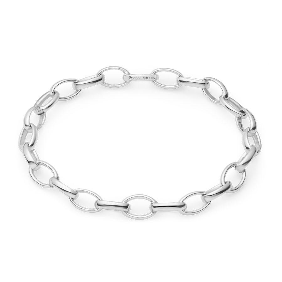 Gucci Silver Charm Blind For Love Bracelet