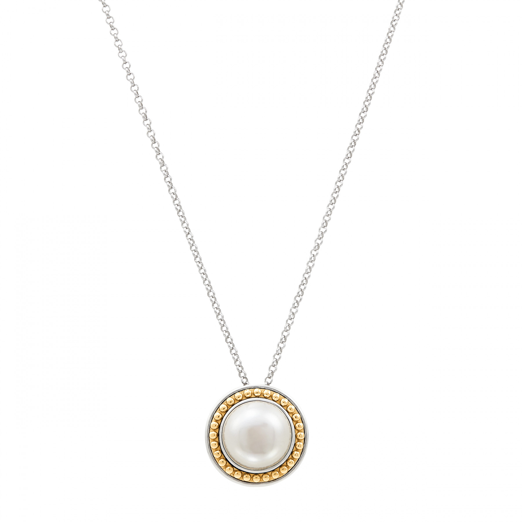 Honora Gold and Silver Pearl Necklace