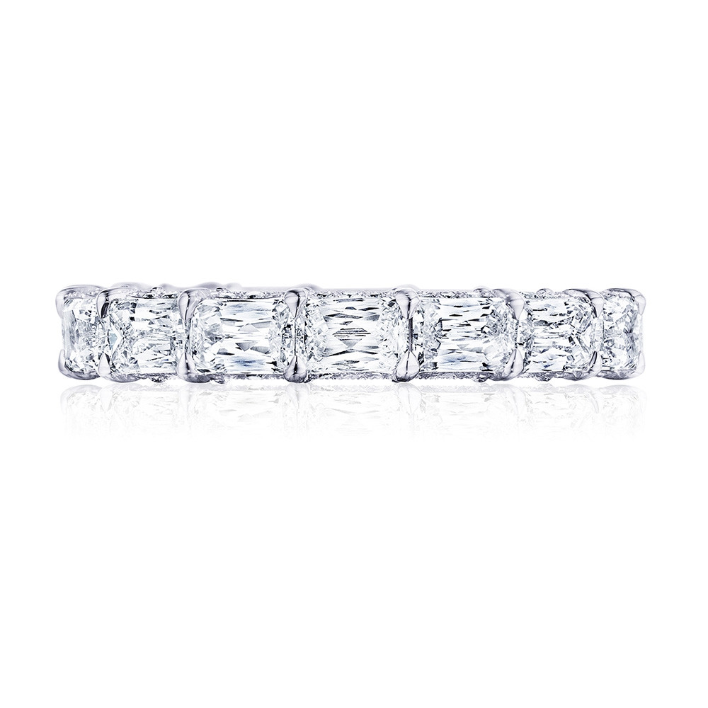 Tacori RoyalT East-West Triple Cut Diamond Eternity Wedding Band
