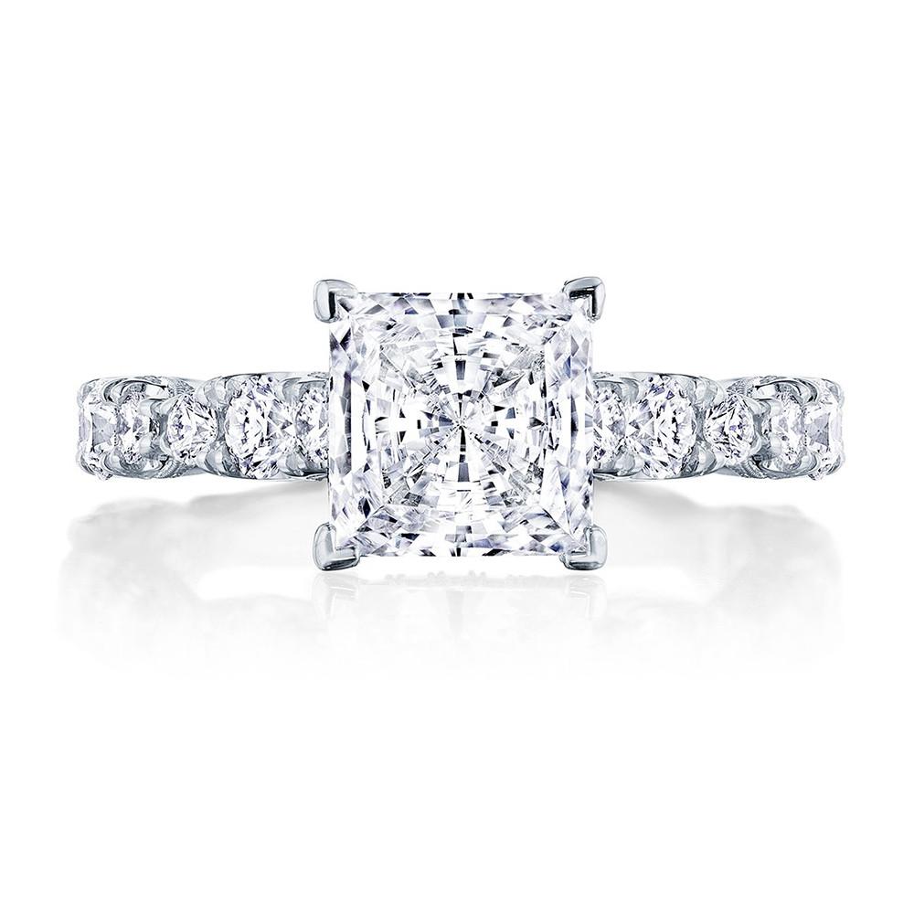 Tacori RoyalT HT2654PR Hidden Bloom Princess Cut Engagement Ring Setting