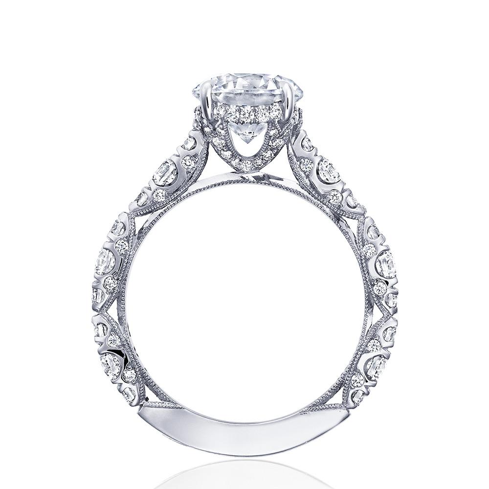Tacori RoyalT Hidden Bloom HT2654RD Diamond Engagement Ring Setting