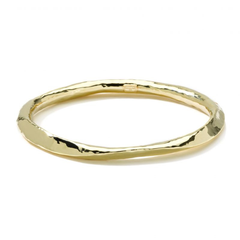 Ippolita Classico Wavy Bangle in 18K Gold main view