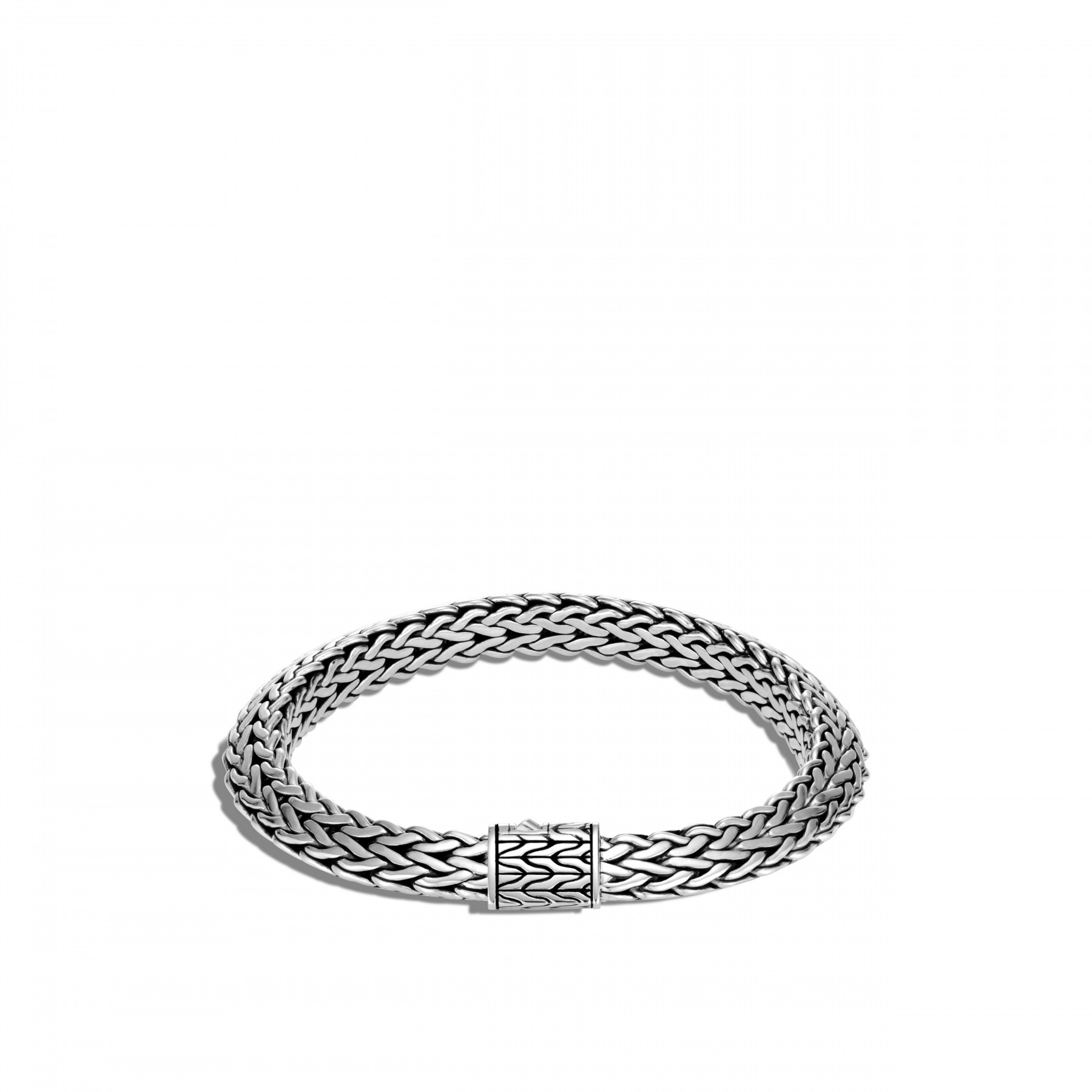 John Hardy Classic Chain Silver Bracelet - 8mm front view