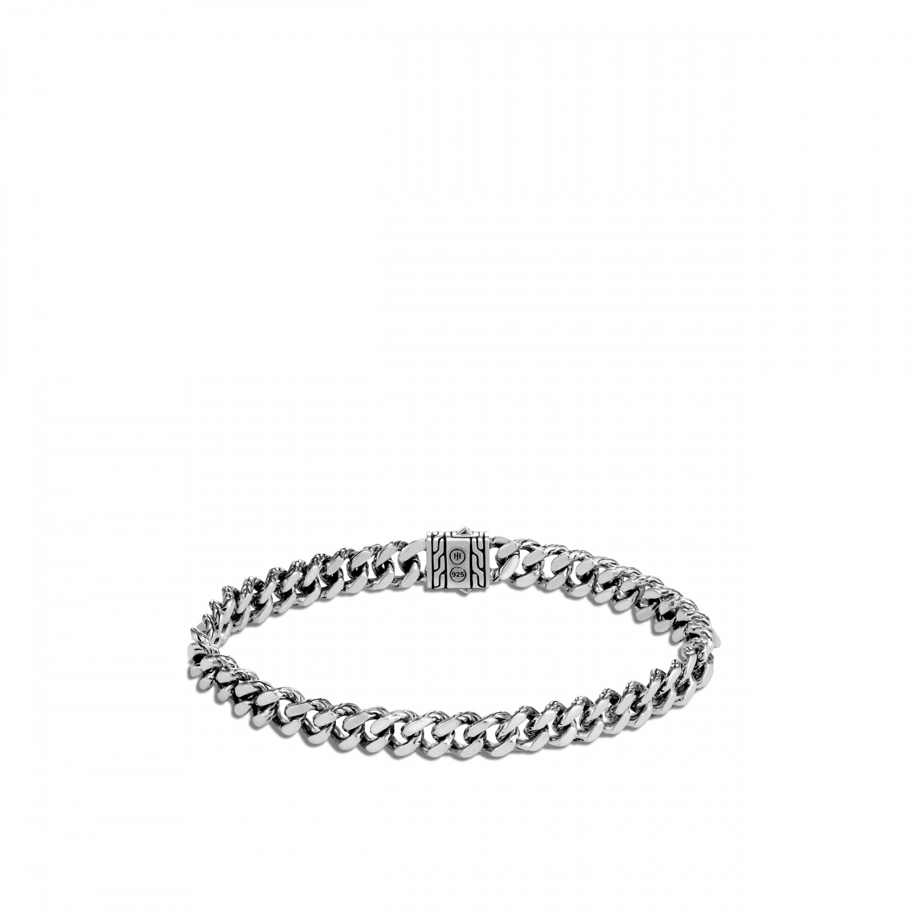 John Hardy Classic Chain Small Link Bracelet in Sterling Silver back view