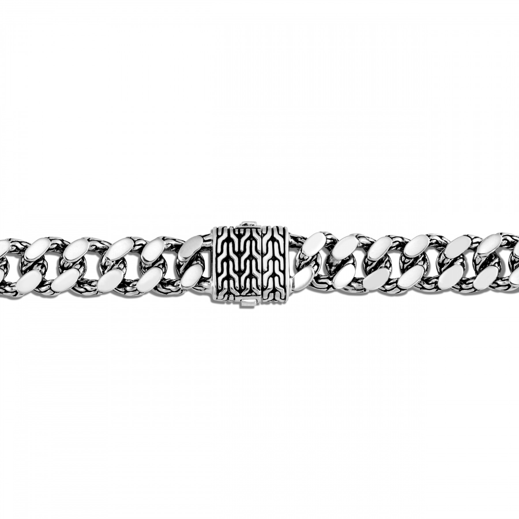 John Hardy Classic Chain Small Link Bracelet in Sterling Silver clasp view