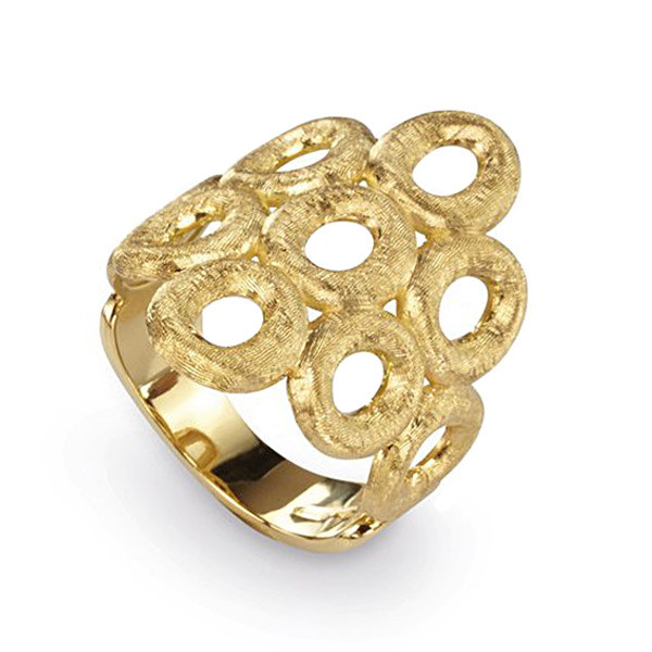 Marco Bicego 18kt Yellow Gold Cluster Siviglia Ring