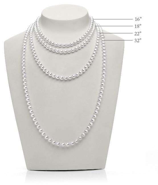 Mikimoto Ginza White South Sea Pearl White Gold Box Set Necklace & Earring Set