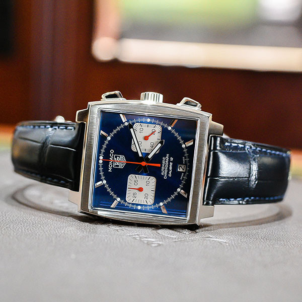 Tag Heuer Monaco Blue Face Automatic Chronograph Watch