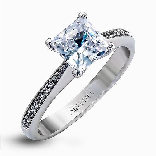Simon G. MR1507 Caviar Engagement Ring