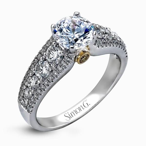 Simon G. MR1694 Delicate Engagement Ring