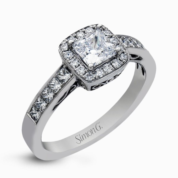 Simon G. MR1829 Simon-Set Engagement Ring