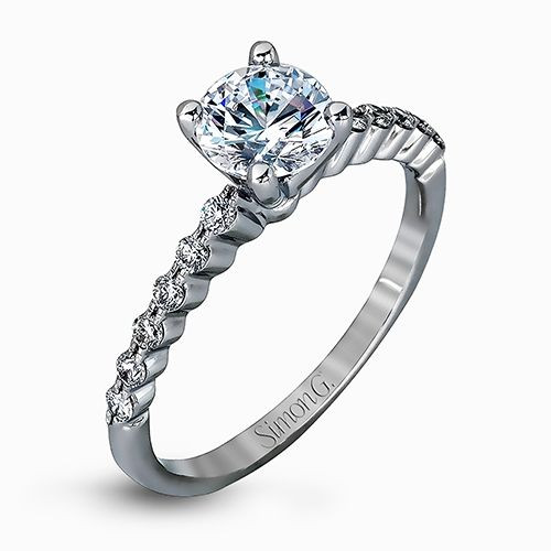 Simon G. MR2173-D Delicate Engagement Ring