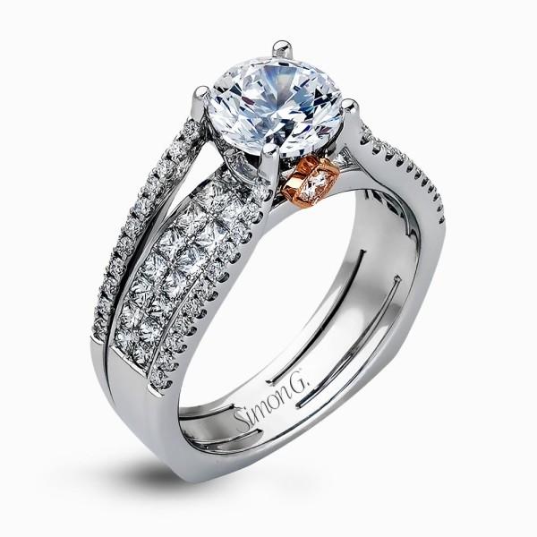 Simon G. MR2286 Simon-Set Engagement Ring