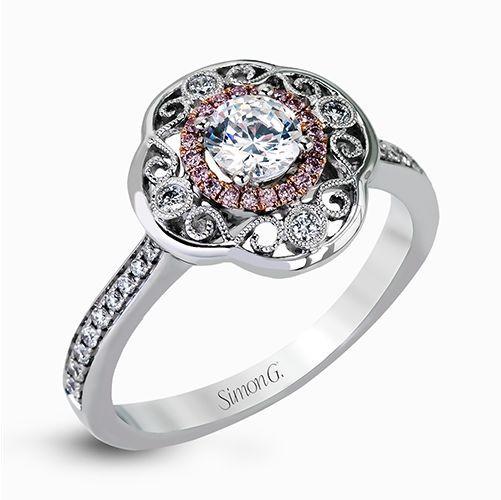 Simon G. Mr2551 Engagement Ring