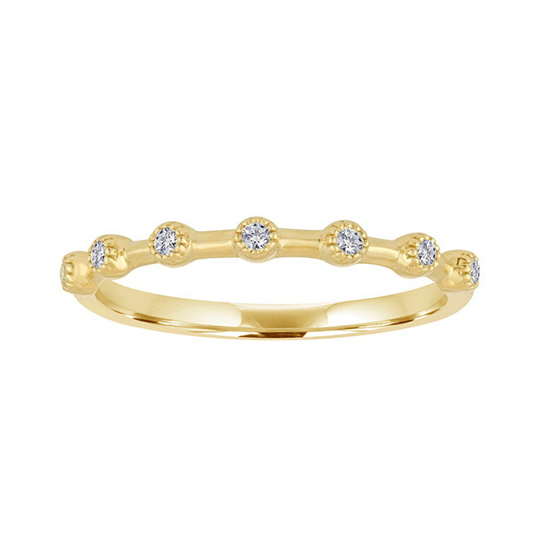 My Story Diamond Stackable Band