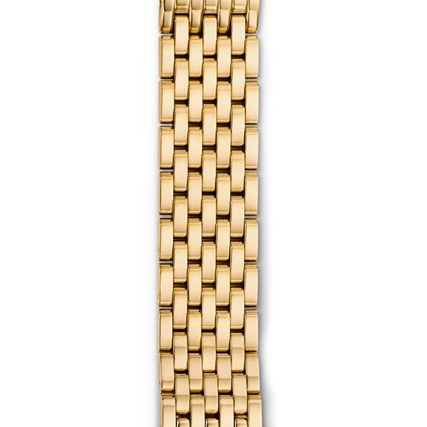 Michele 16mm Serein 16 Gold 7 Link Bracelet