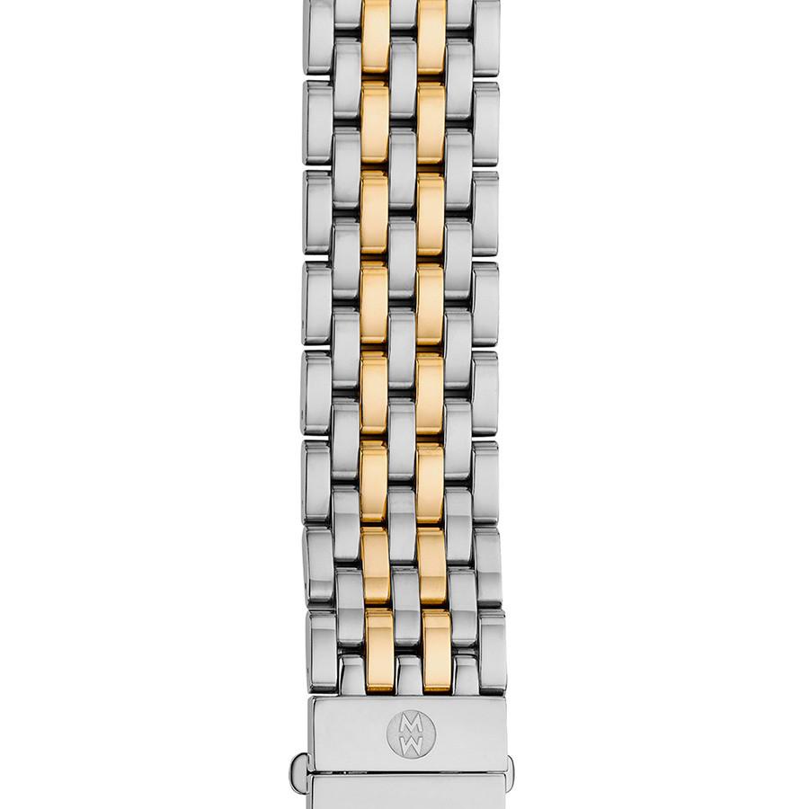 Michele 16mm Serein 16 Two Tone 7 Link Bracelet