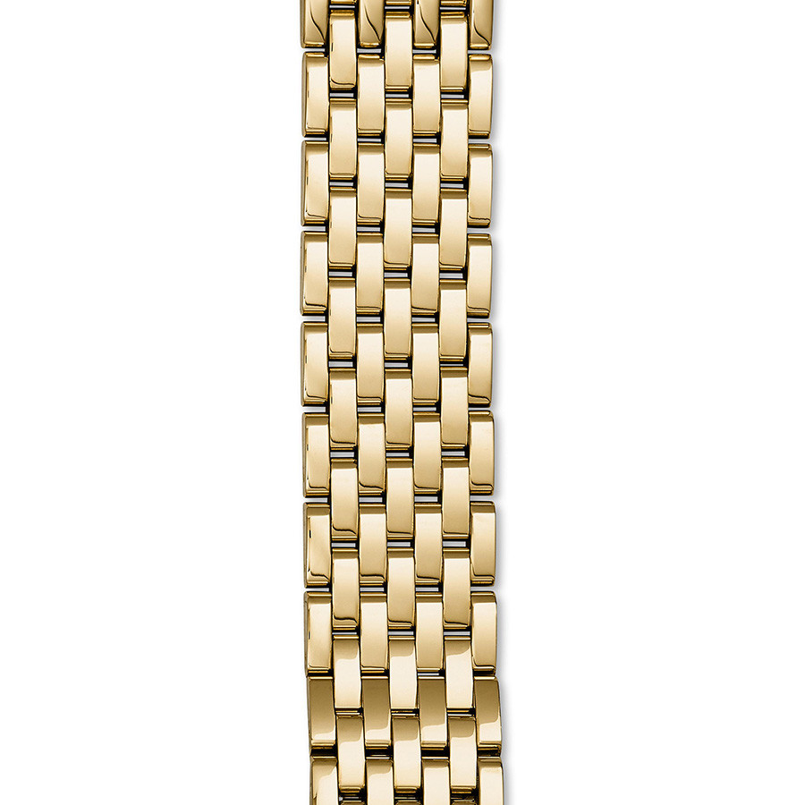 Michele Sidney Yellow Gold 7 Link 18mm Bracelet