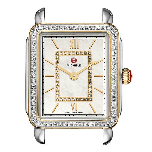 Michele Deco II Mid-Size Diamond Watch