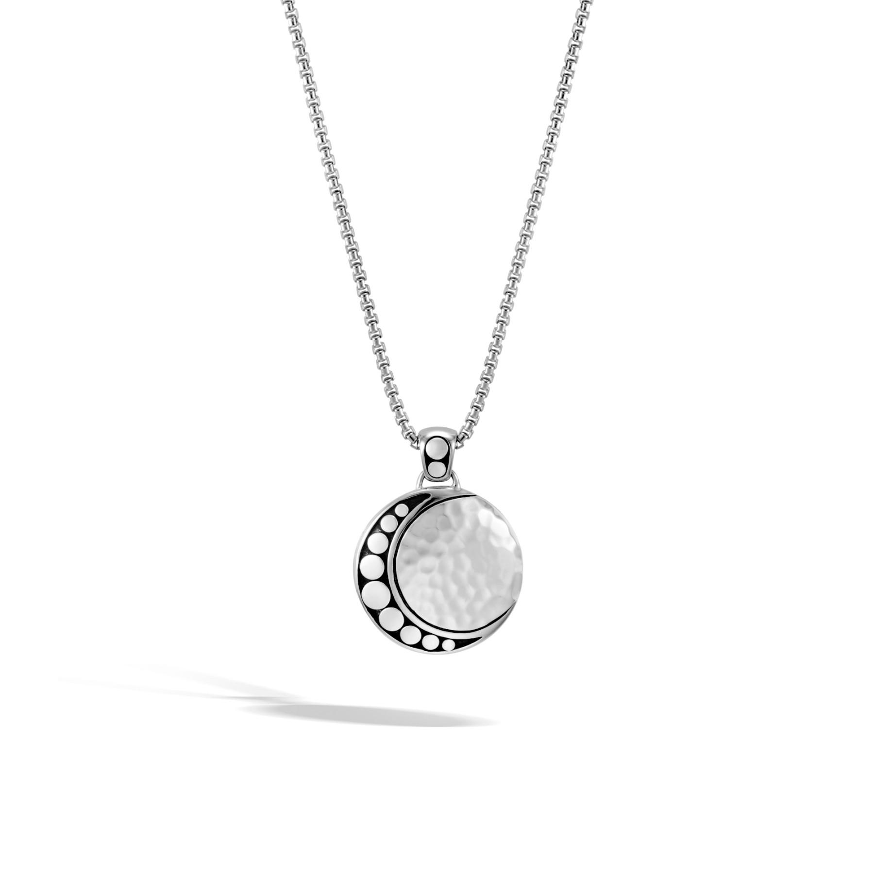 John Hardy Dot Moon Phase Necklace
