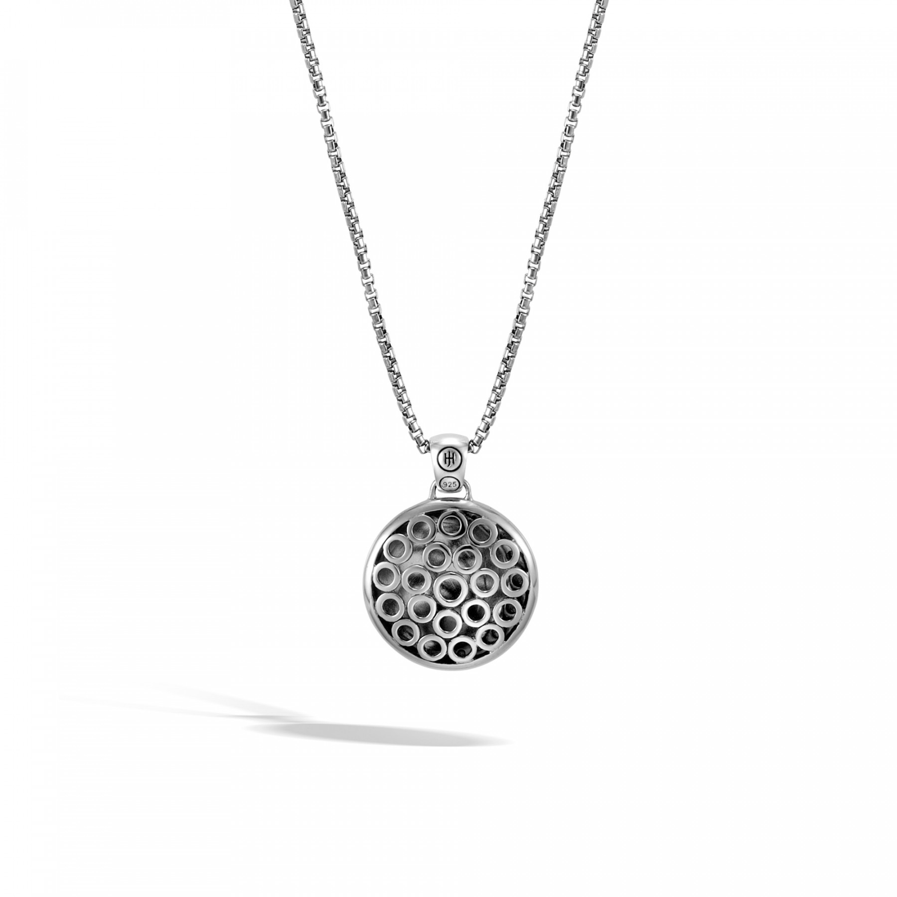 John Hardy Dot Moon Phase Necklace back view