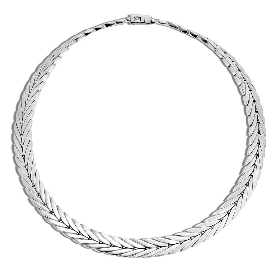 """John Hardy 11mm Modern Chain Silver 20"""" Collar Necklace"""