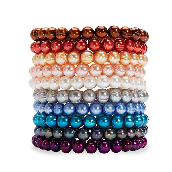 Honora Freshwater Cultured Pearl Multi-Color Bracelets