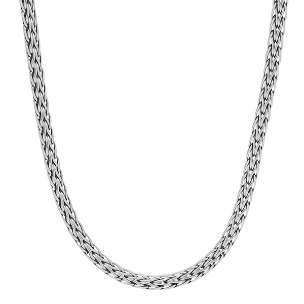 John Hardy 3.72mm Classic Chain Silver Necklace