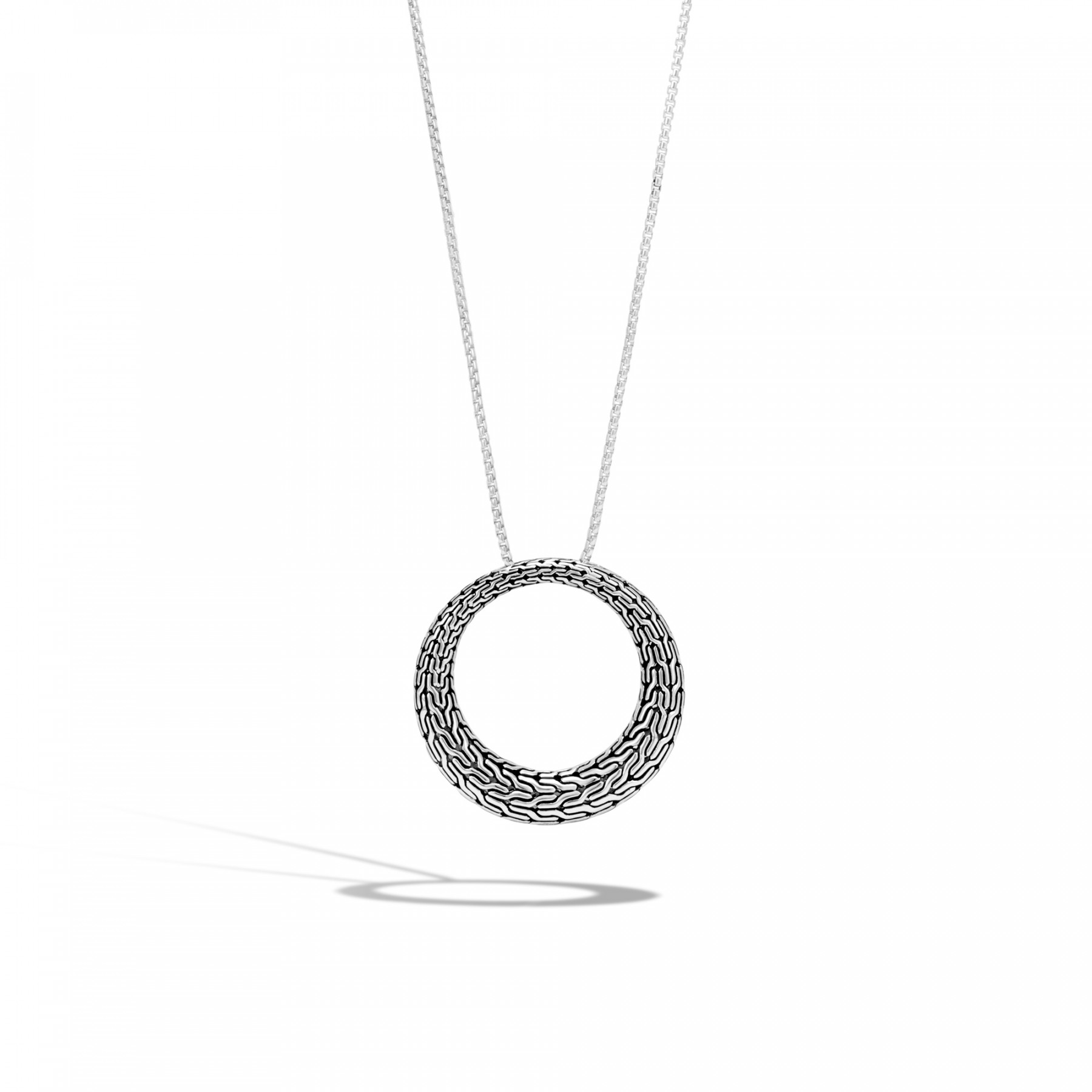 John Hardy Classic Chain Open Circle Necklace