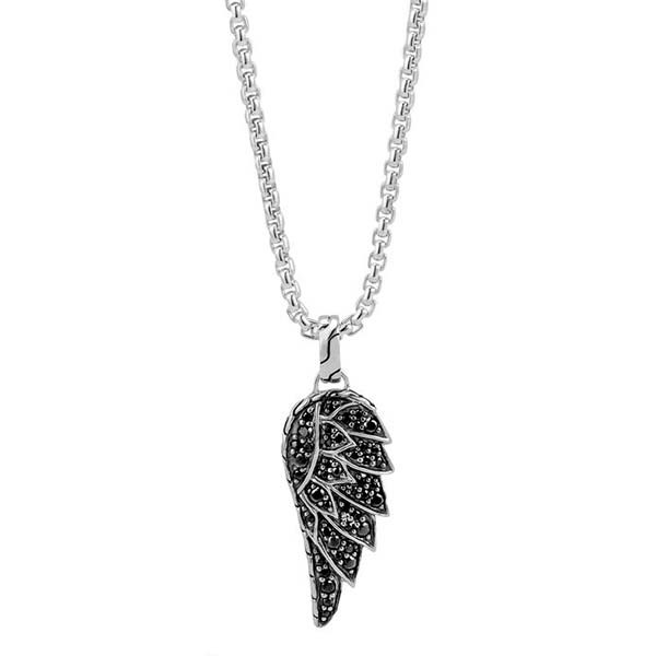 John Hardy Eagle Wing Black Sapphire Legends Pendant