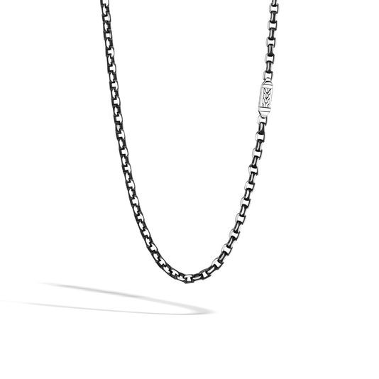 John Hardy Classic Box Chain Necklace in Sterling Silver