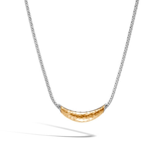 John Hardy Classic Chain Two-Tone Station Necklace