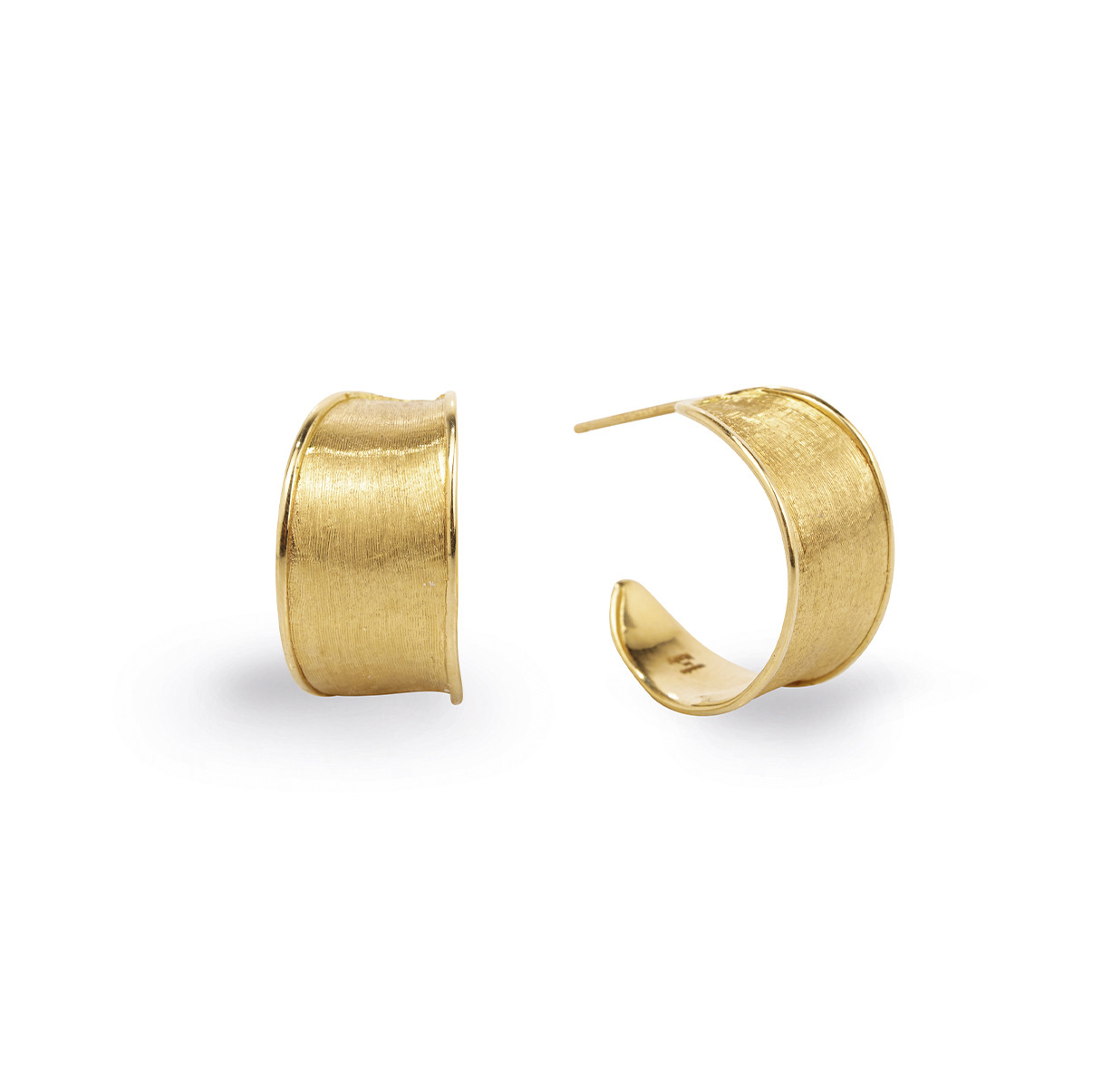Marco Bicego Lunaria Gold Hoops