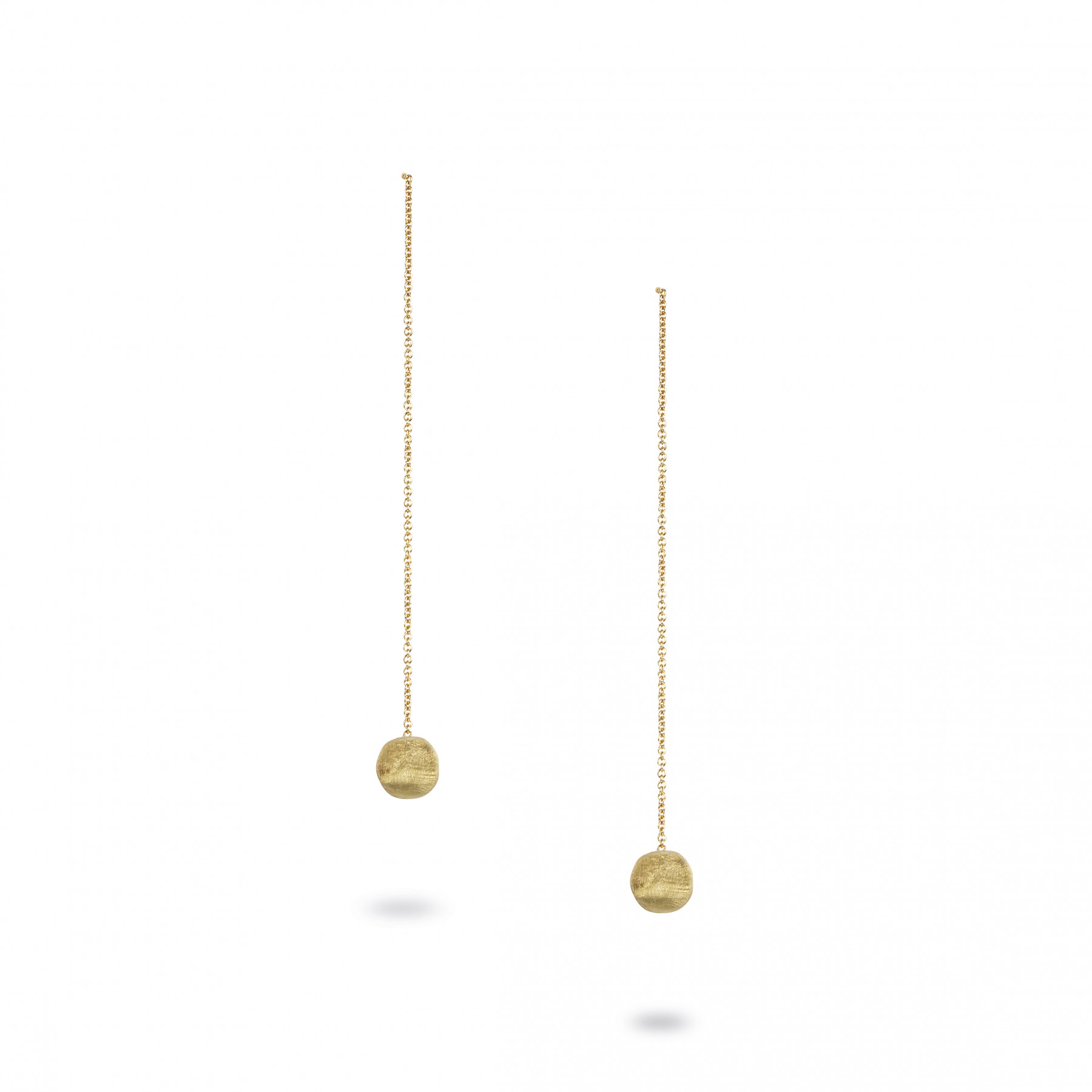 Marco Bicego Yellow Gold Delicate Drop Bead Earrings