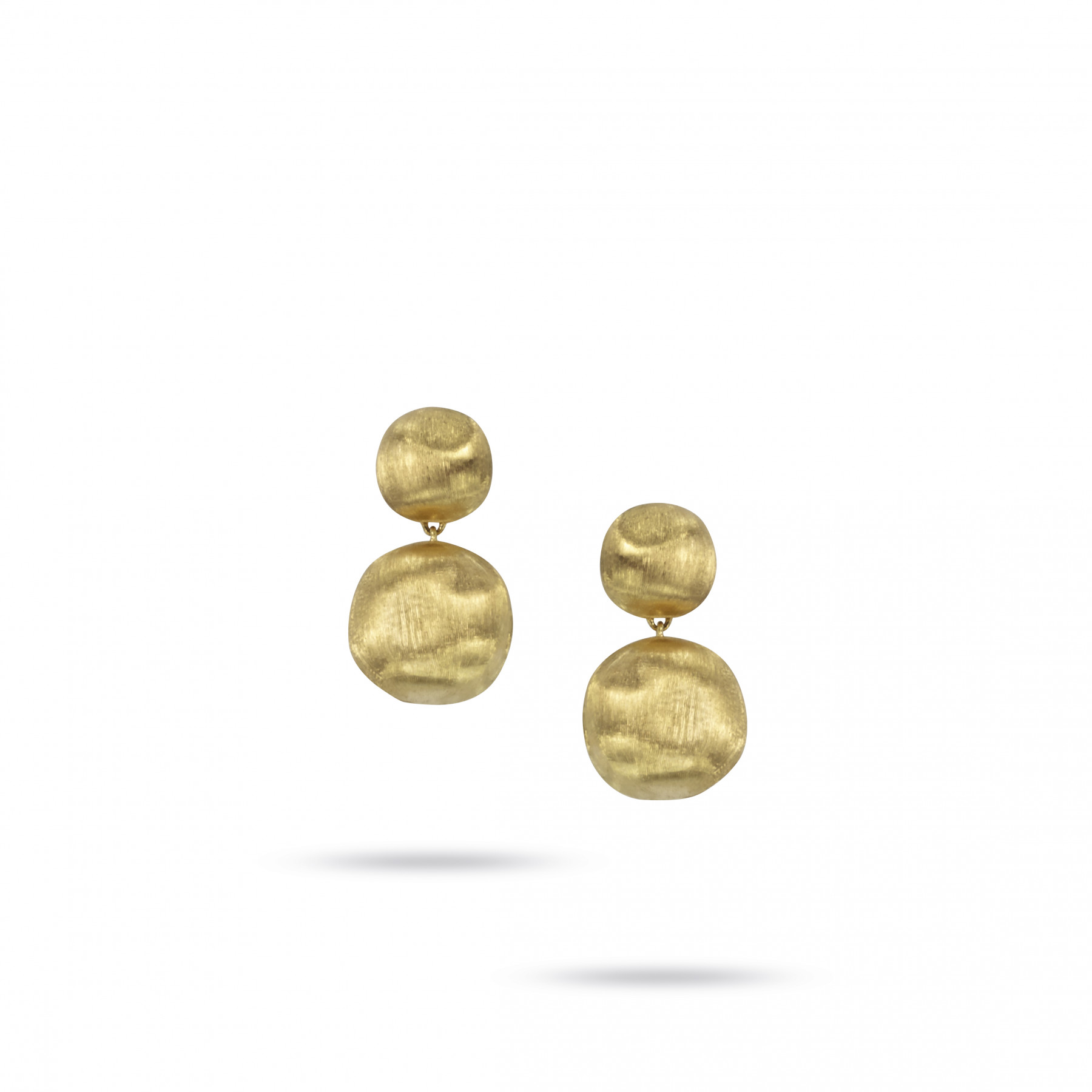 Marco Bicego Africa Large 18kt Yellow Gold Drop Earrings